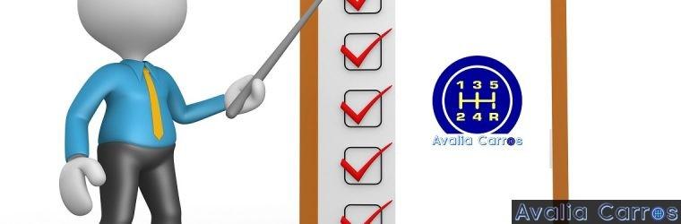 Check List Avalia Carros!