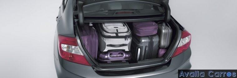 Organizando a bagagem