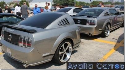 Bagageiro reboque Mustang
