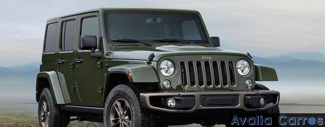 Avaliando o Jeep Wrangler Unlimited Edição Especial de 75 anos