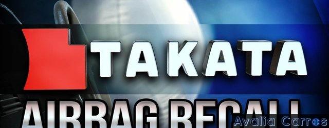 Boletim de Recall Takata