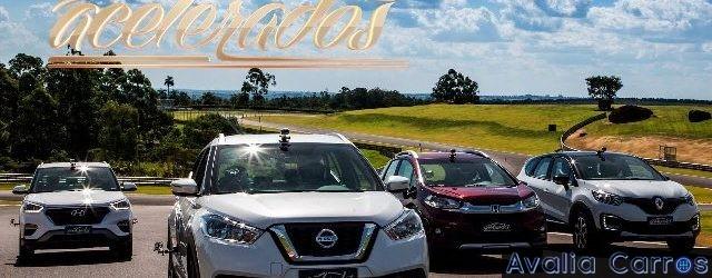 Avaliação Renault Captur x Hyundai Creta x Nissan Kicks x Honda WR-V
