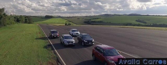 Avaliação Hyundai Creta x Chevrolet Tracker Turbo x Nissan Kicks x Honda HR-V x Jeep Renegade