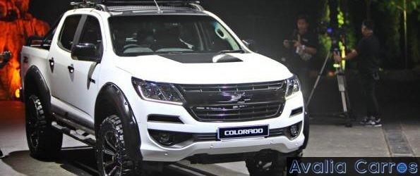 Nova Chevrolet Colorado apresentada em Jacarta