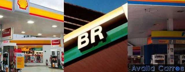 Teste de consumo com três gasolinas diferentes: V-Power da Shell, Grid da Petrobrás e DT Clean da Ipiranga