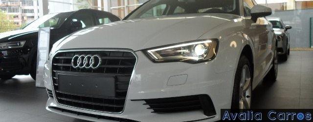 Eder Matias nosso ex-colaborador passou o Audi A3 Sedan TFSI 2016 no pente fino