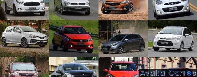 Os piores e melhores carros do Brasil