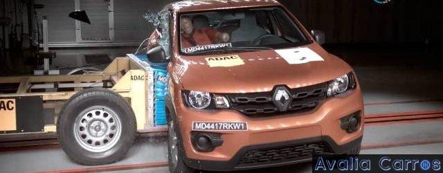 Renault KWID avaliado pelo Latin NCAP