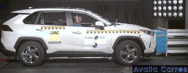Crash Test Toyota RAV 4 - 5 estrelas