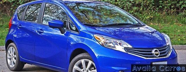 O Nissan Versa Note avaliado por Eder Matias