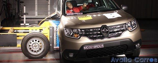 Renault New Duster - 4 estrelas no Latin NCAP
