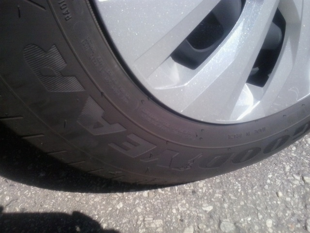 Avaliando os pneus do Volkswagen Polo